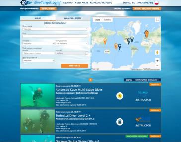 DiveTarget - kursy nurkowania