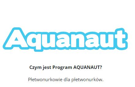 Programu Aquanaut  - cel programu portalu diveTarget.com
